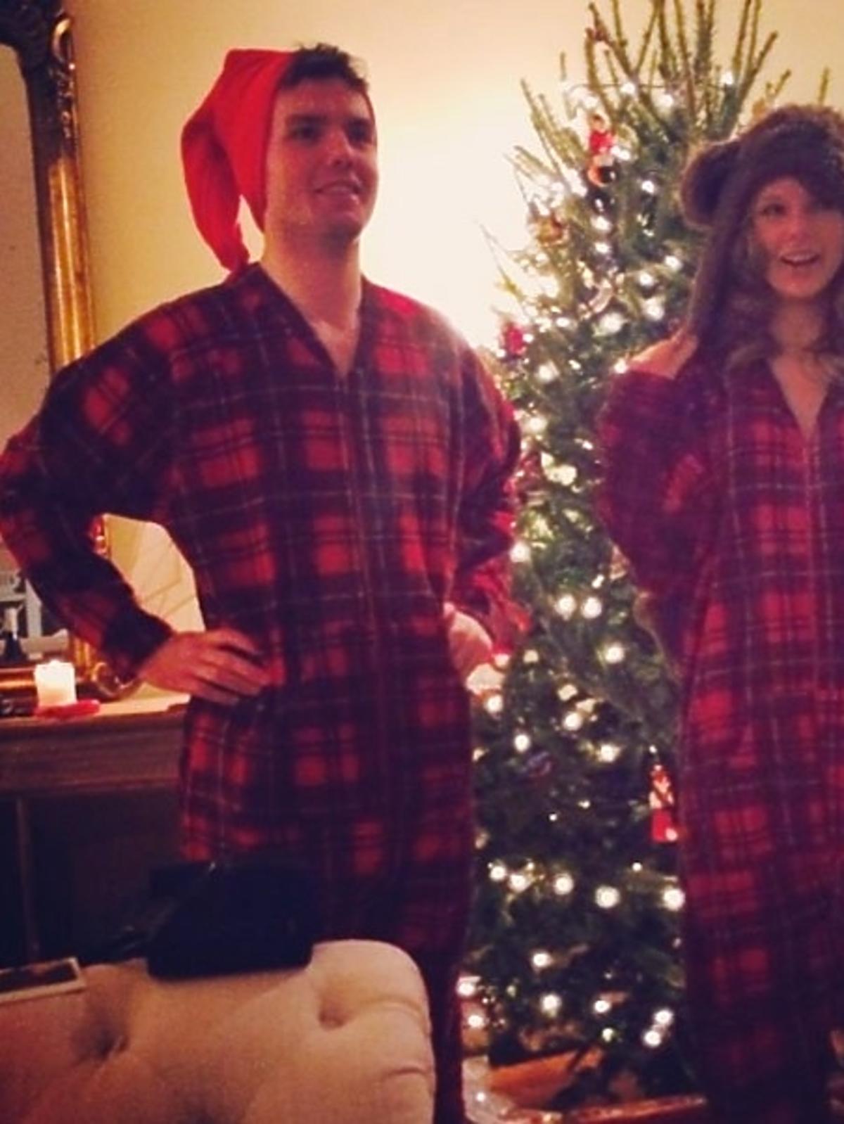 Tak święta Bożego Narodzenia spędza Taylor Swift
