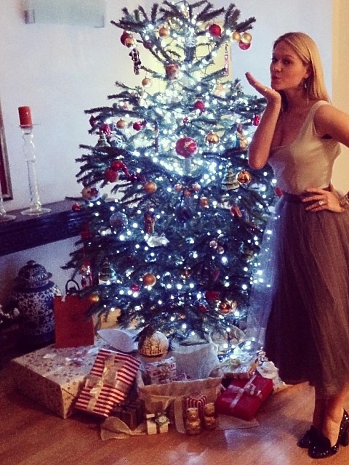 Tak święta Bożego Narodzenia spędza Zosia Ślotała