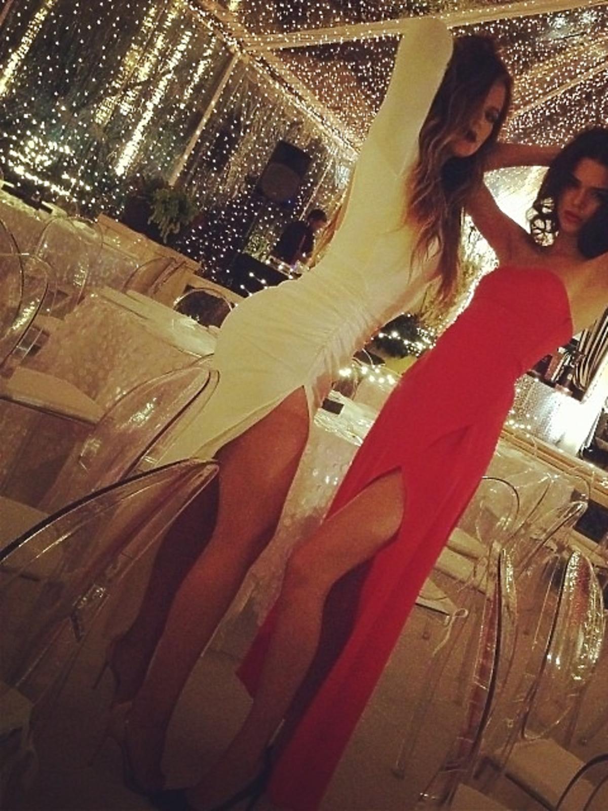 Tak święta Bożego Narodzenia spędzają Kardashianki