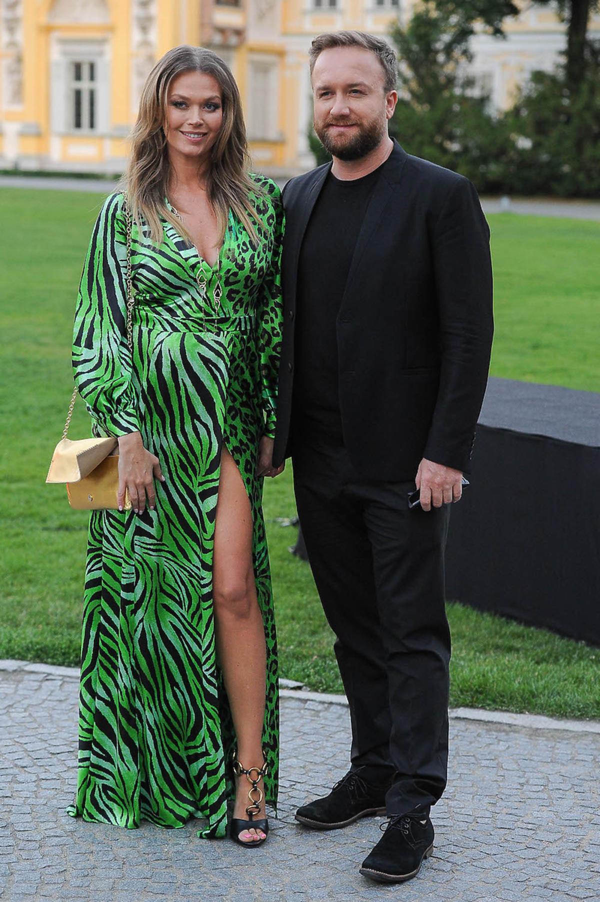 Tamara Arciuch i Bartek Kasprzykowski na imprezie Raffaello