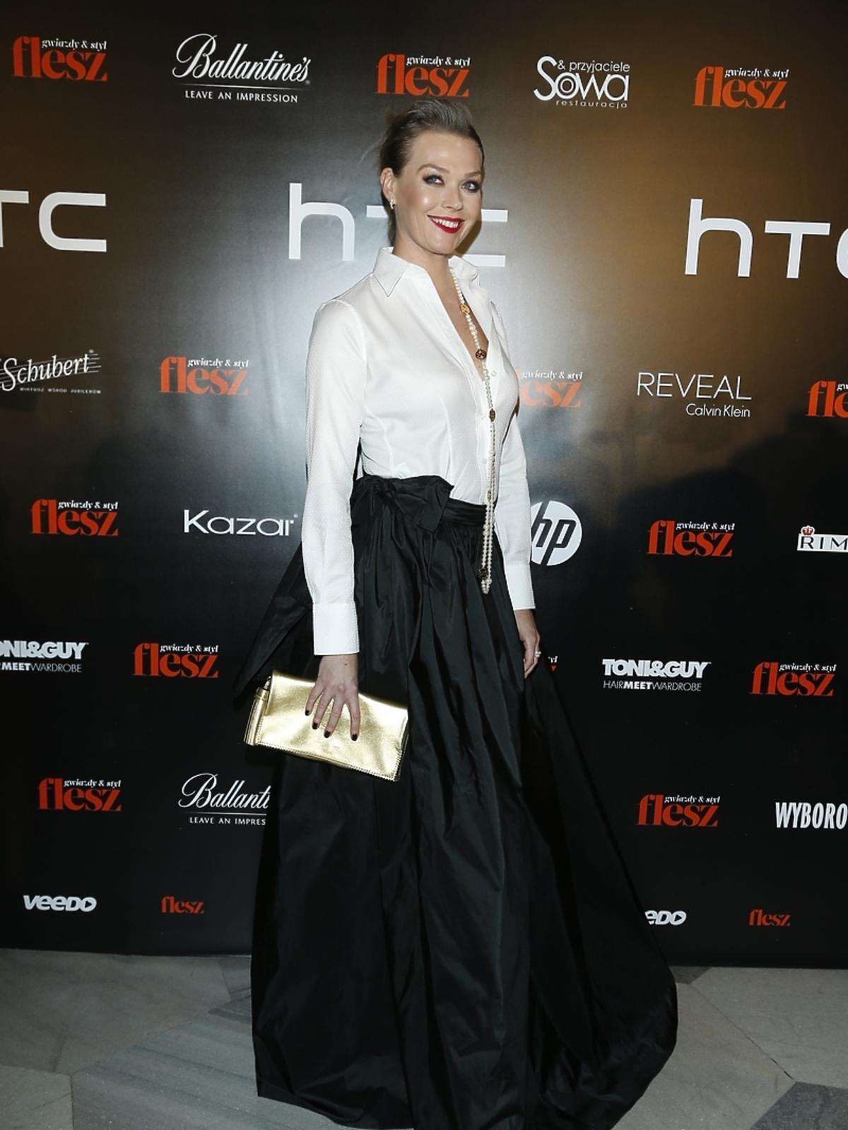 Tamara Arciuch na imprezie Flesz Fashion Night
