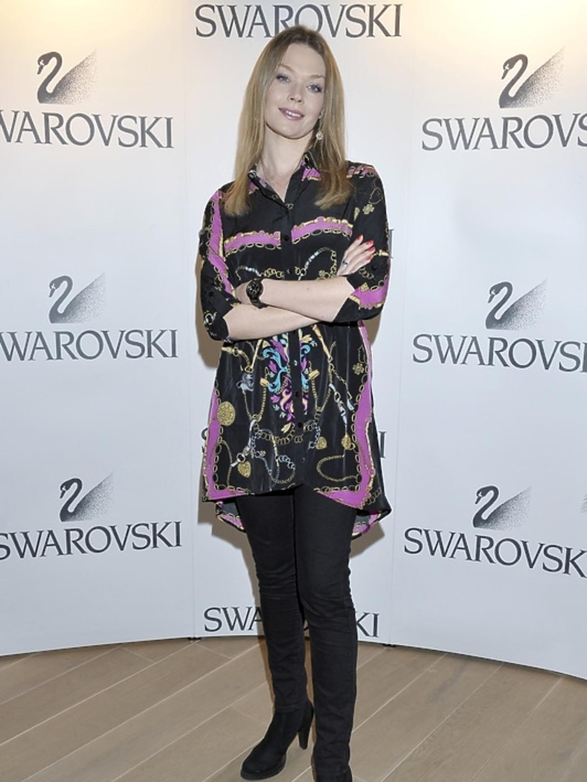 Tamara Arciuch na pokazie kolekcji Swarovski - lato 2013