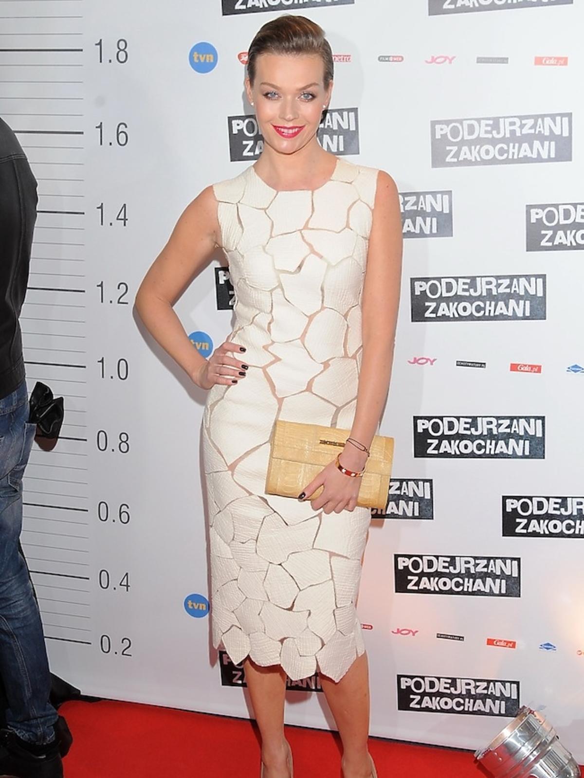 Tamara Arciuch na premierze filmu
