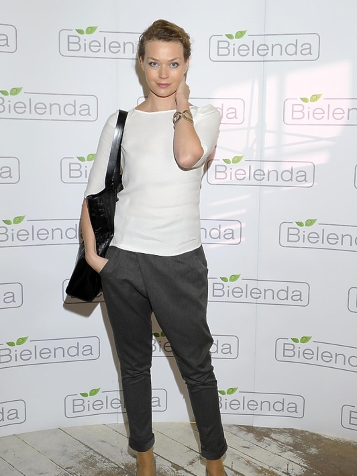 Tamara Arciuch na prezentacji kosmetyków marki Bielenda