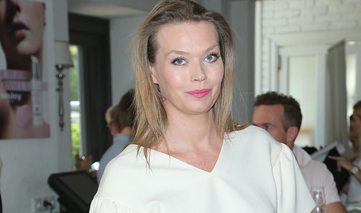 Tamara Arciuch pokazała zaokrąglony brzuszek na imprezie