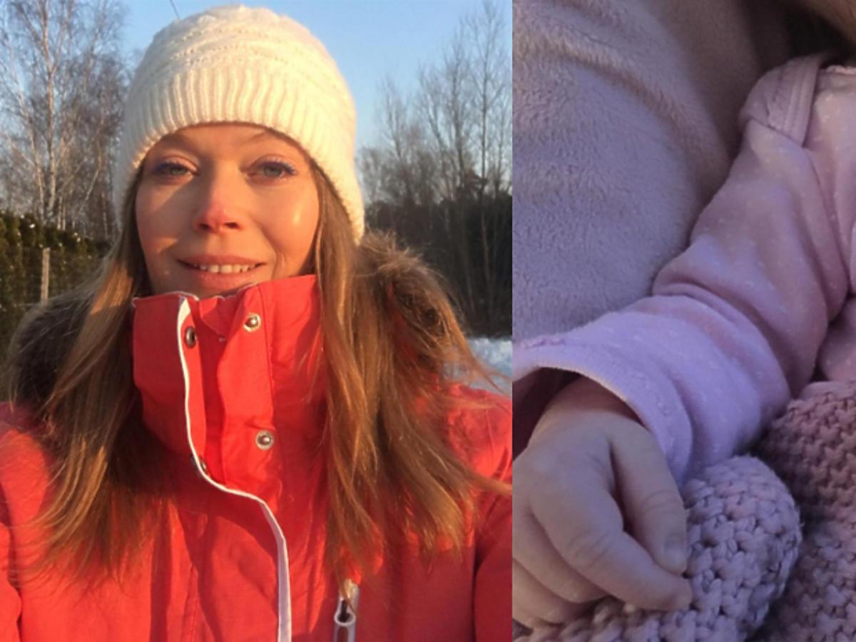 Tamara Arciuch w białej czapce