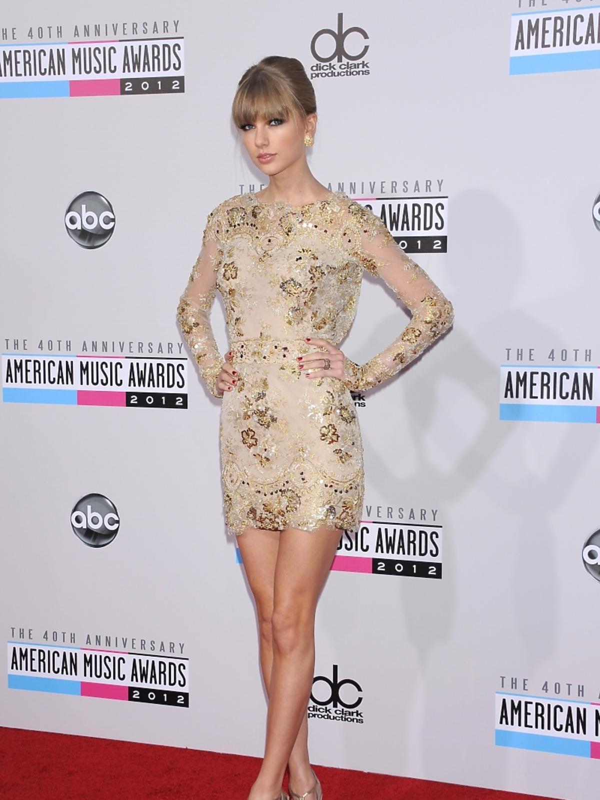Taylor Swift na rozdaniu nagród American Music Awards