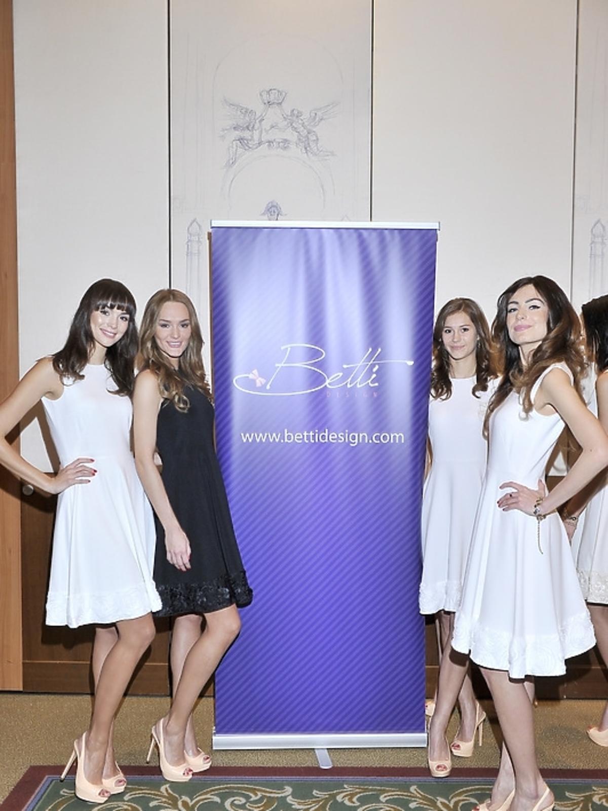 Tegoroczne finalistki Miss Polonia 2012 na konferencji prasowej
