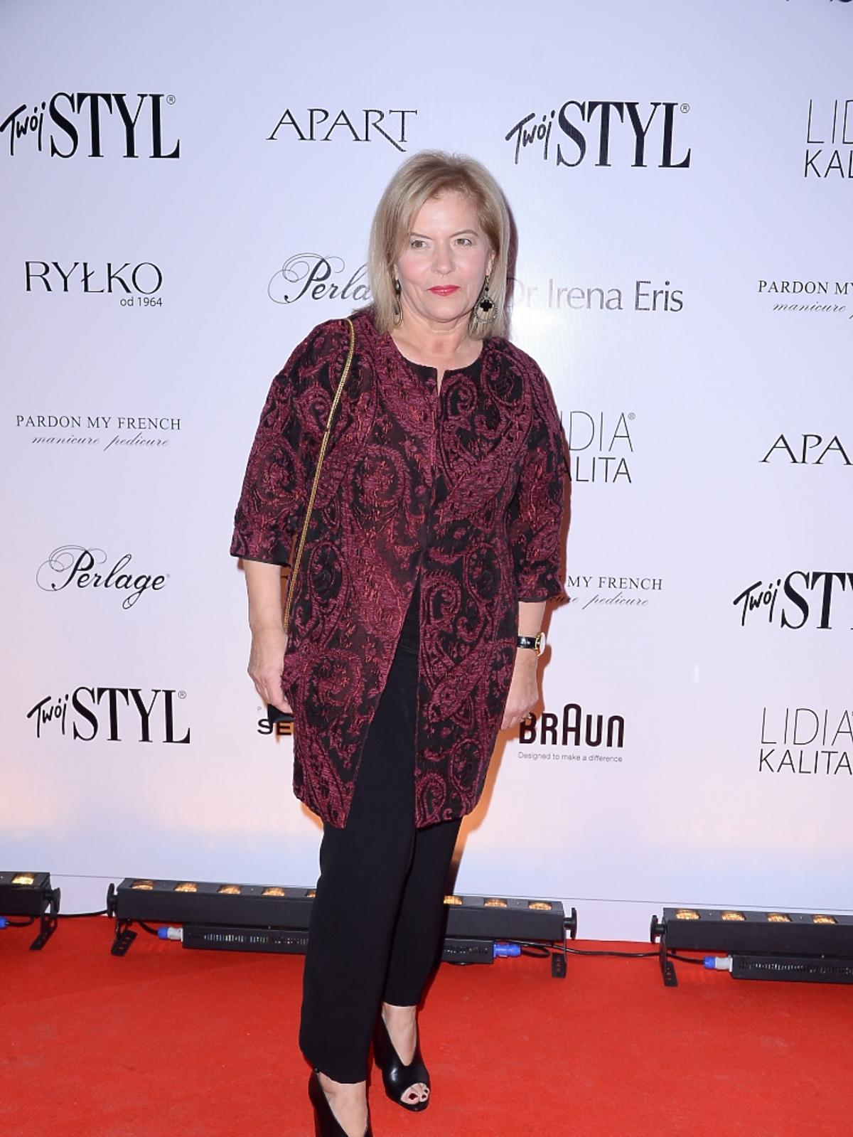 Teresa Rosati na imprezie Doskonałość Mody Twojego Stylu