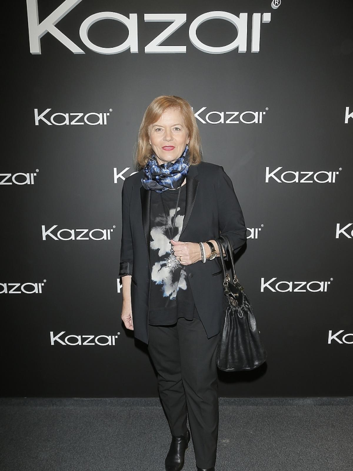 Teresa Rosati na pokazie Kazara