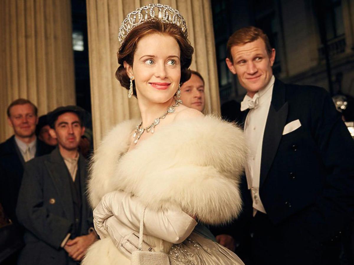 The Crown zdjęcia z planu