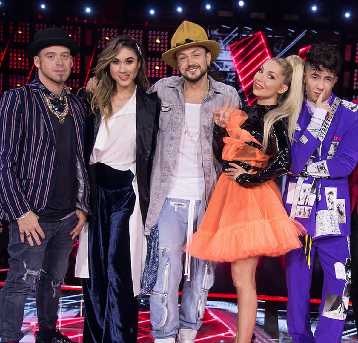 The Voice Kids 3 - finał : Tomson, Ida Nowakowska, Baron, Cleo, Dawid Kwiatkowski