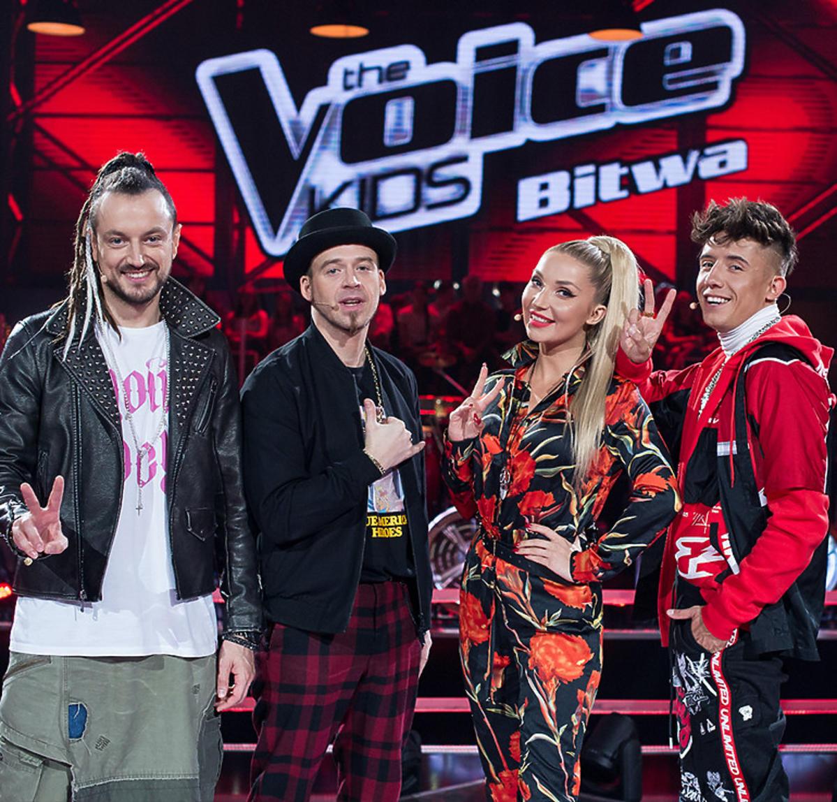 The Voice Kids 3 - Tomson, Baron, Cleo i Dawid Kwiatkowski