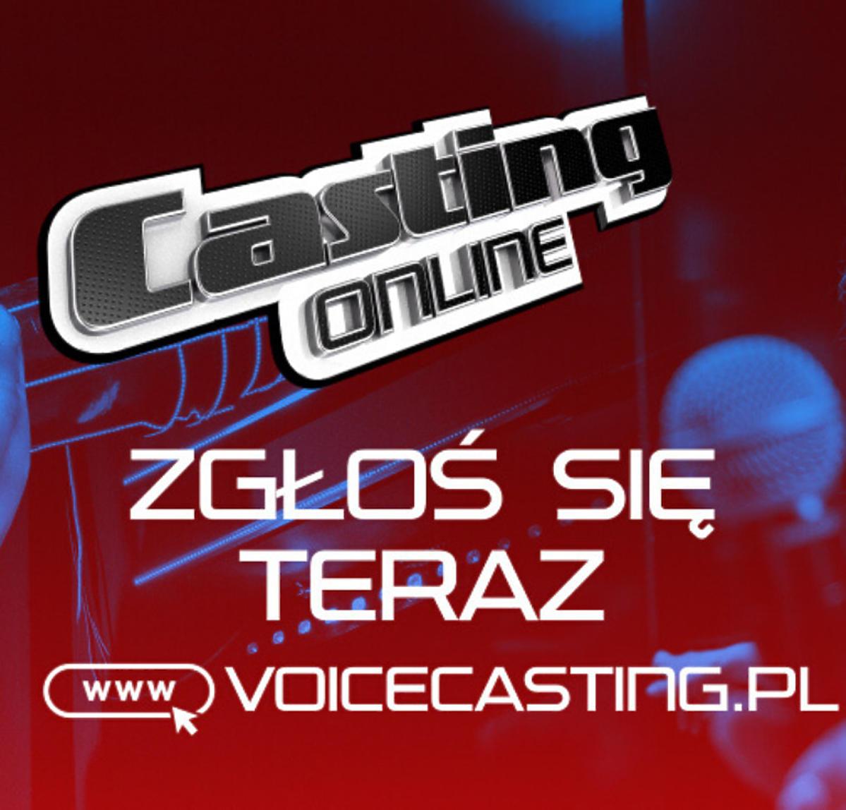 The Voice of Poland plakat promujący casting