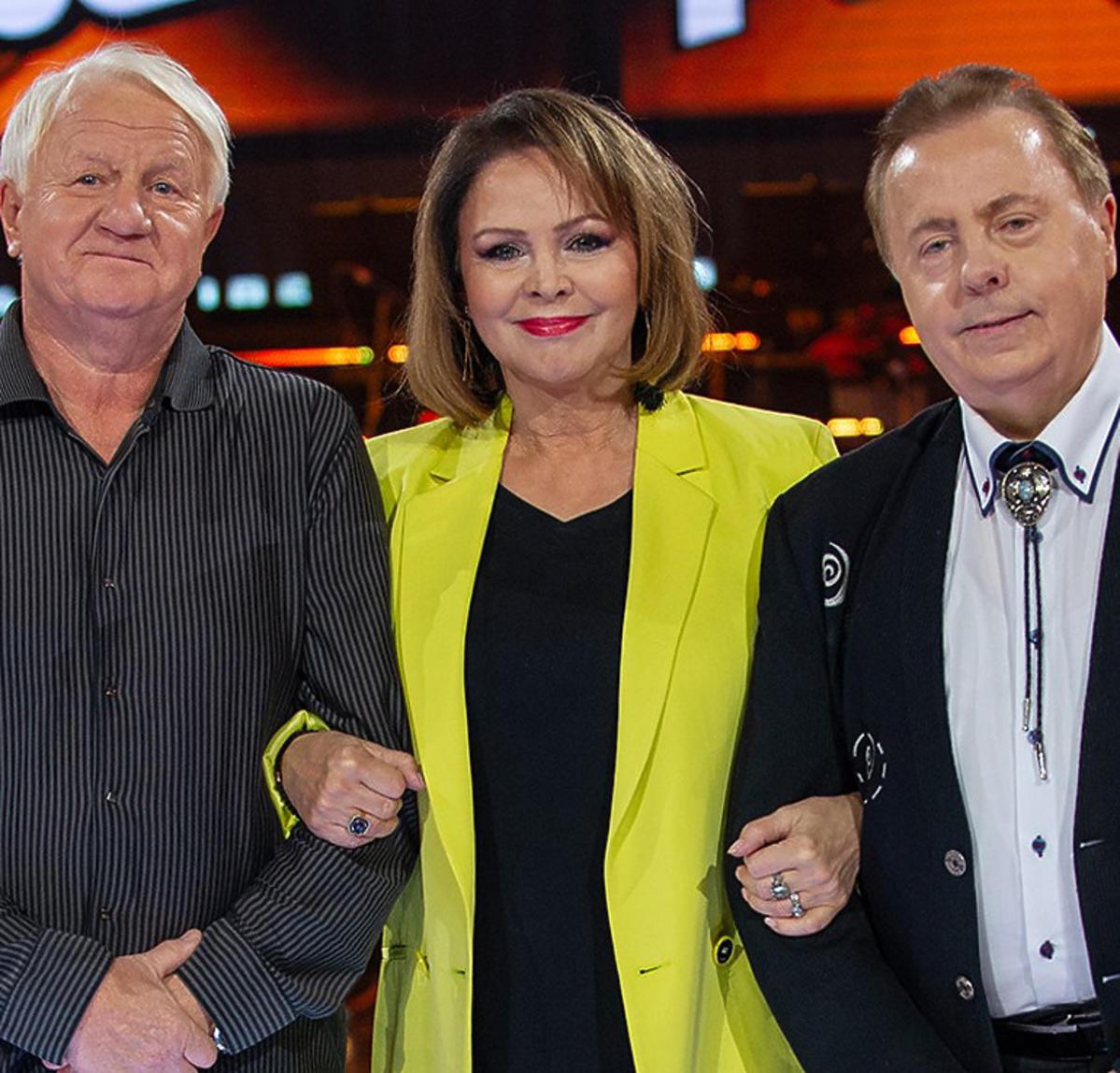 The Voice Senior, finaliści z drużyny Izabeli Trojanowskiej - Andrzej Nosowski i Andrzej Szpak