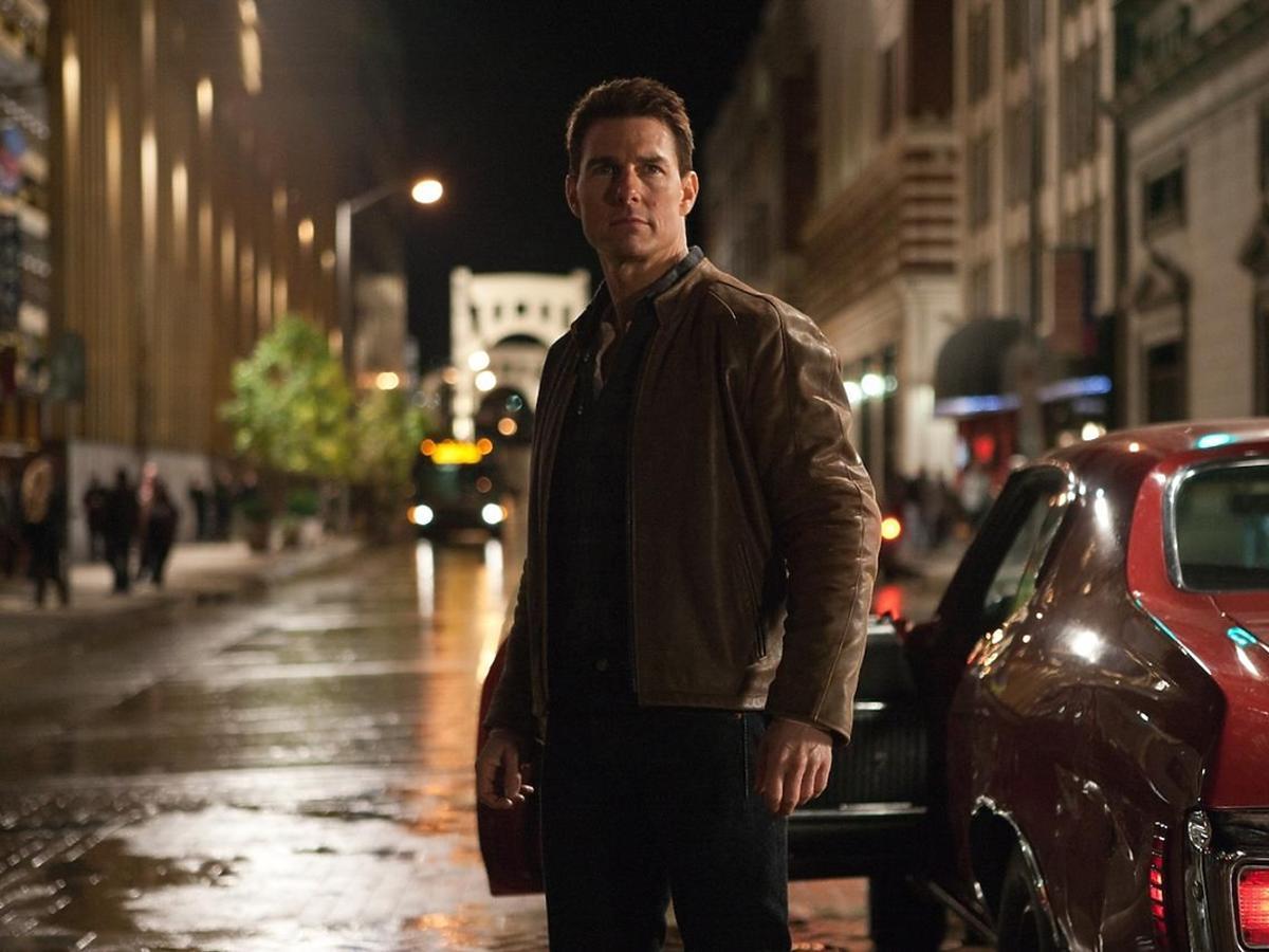 Tom Cruise w filmie Jack Reacher