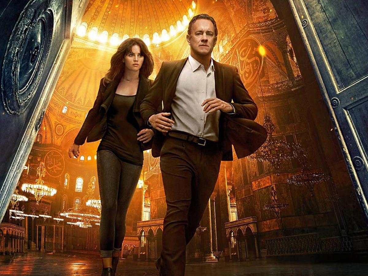 Tom Hanks i Felicity Jones w filmie Inferno