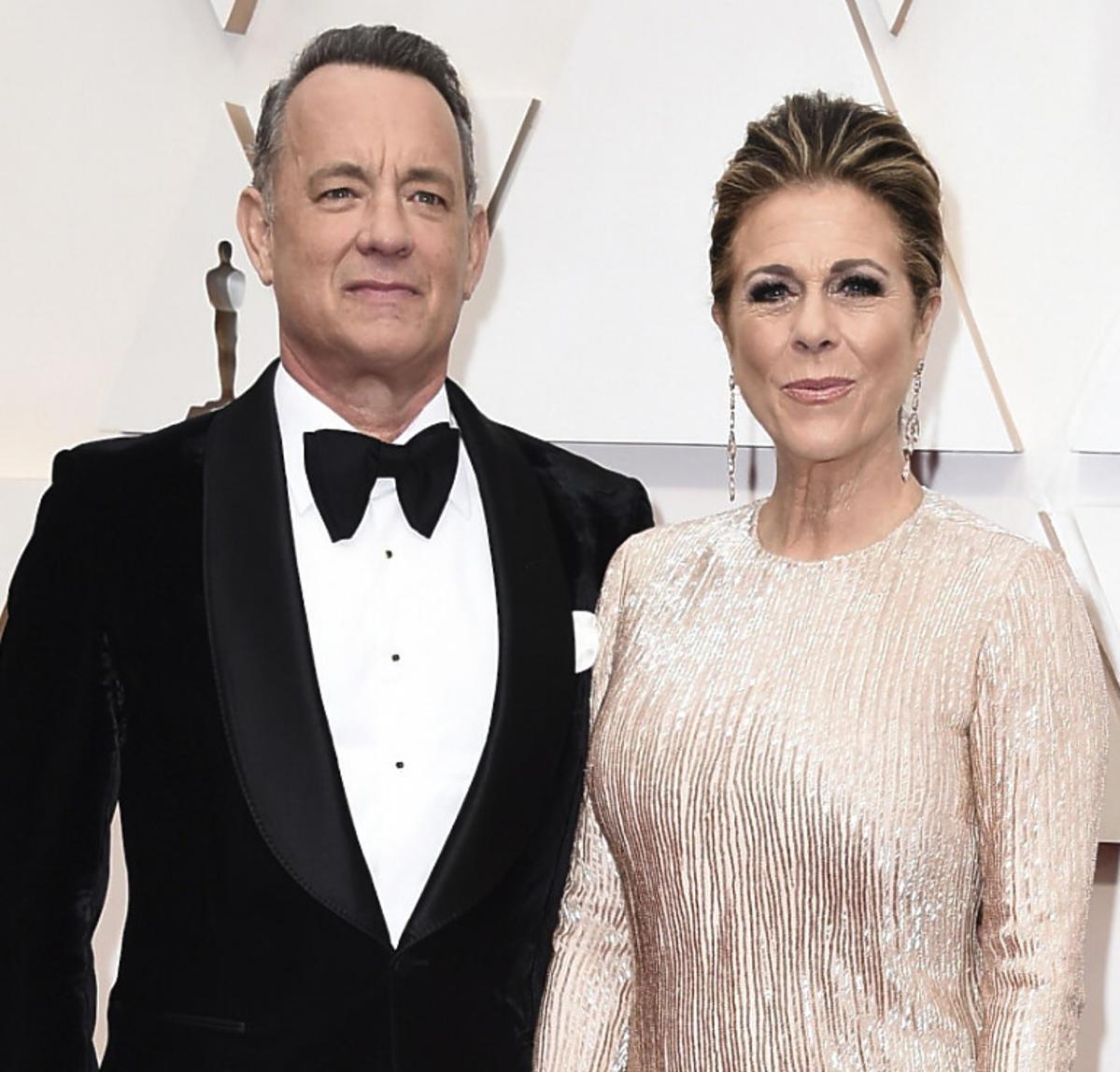 Tom Hanks z żoną zarażeni koronawirusem