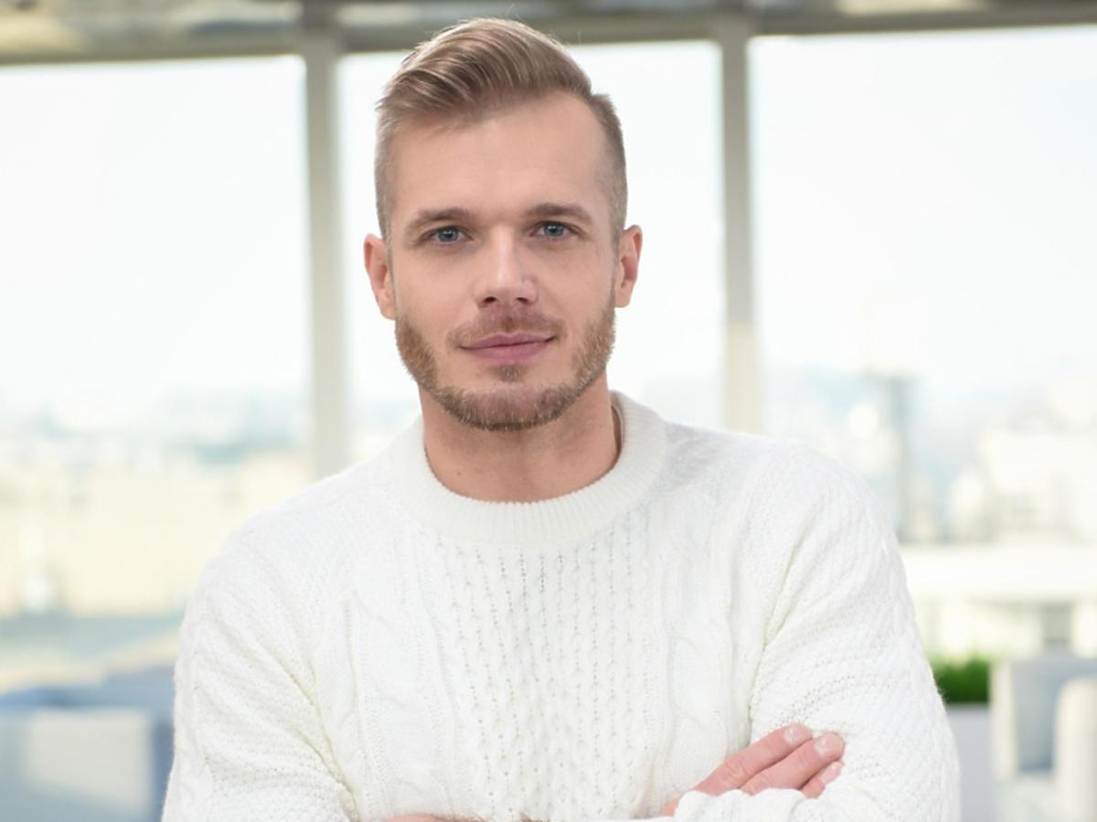 """Tomasz Ciachorowska na planie """"DDTVN"""""""