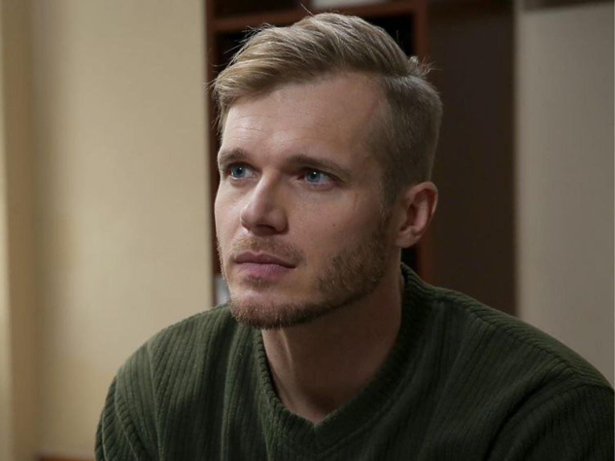 Tomasz Ciachorowski na planie M jak miłość