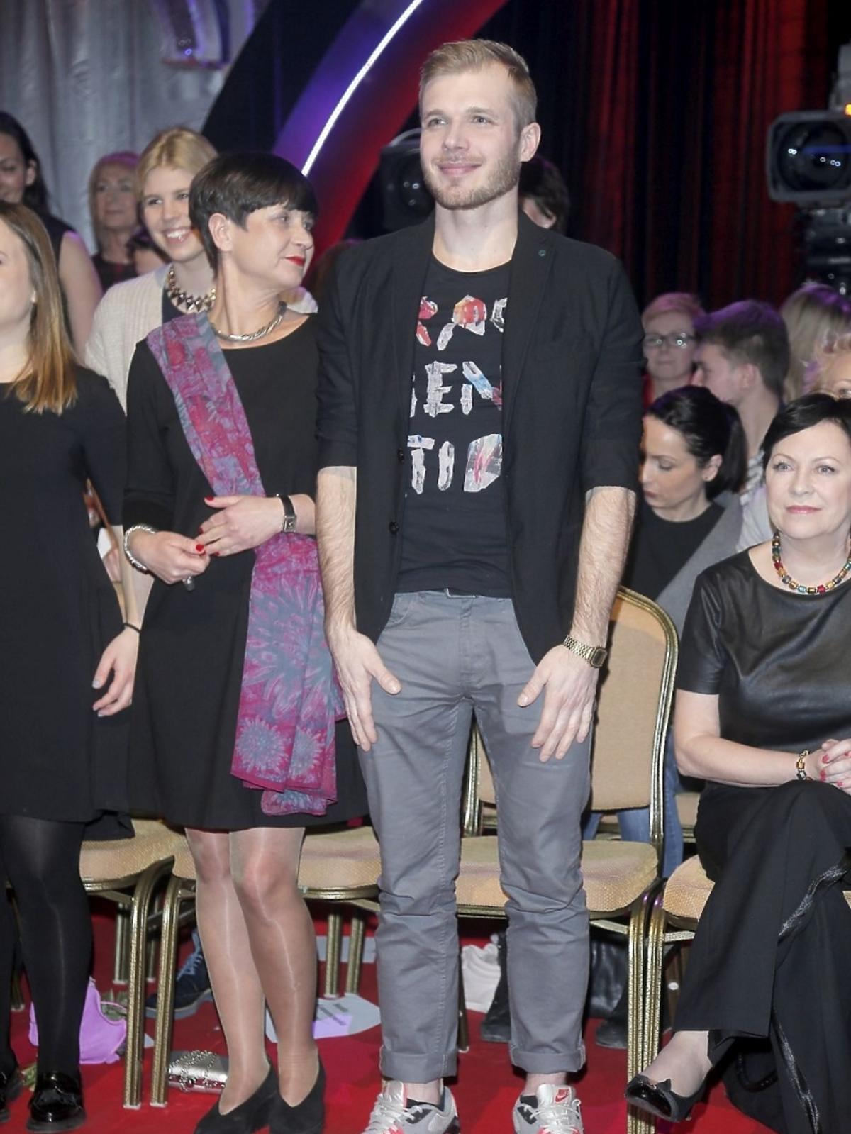 Tomasz Ciachorowski w trzecim odcinku Tańca z Gwiazdami