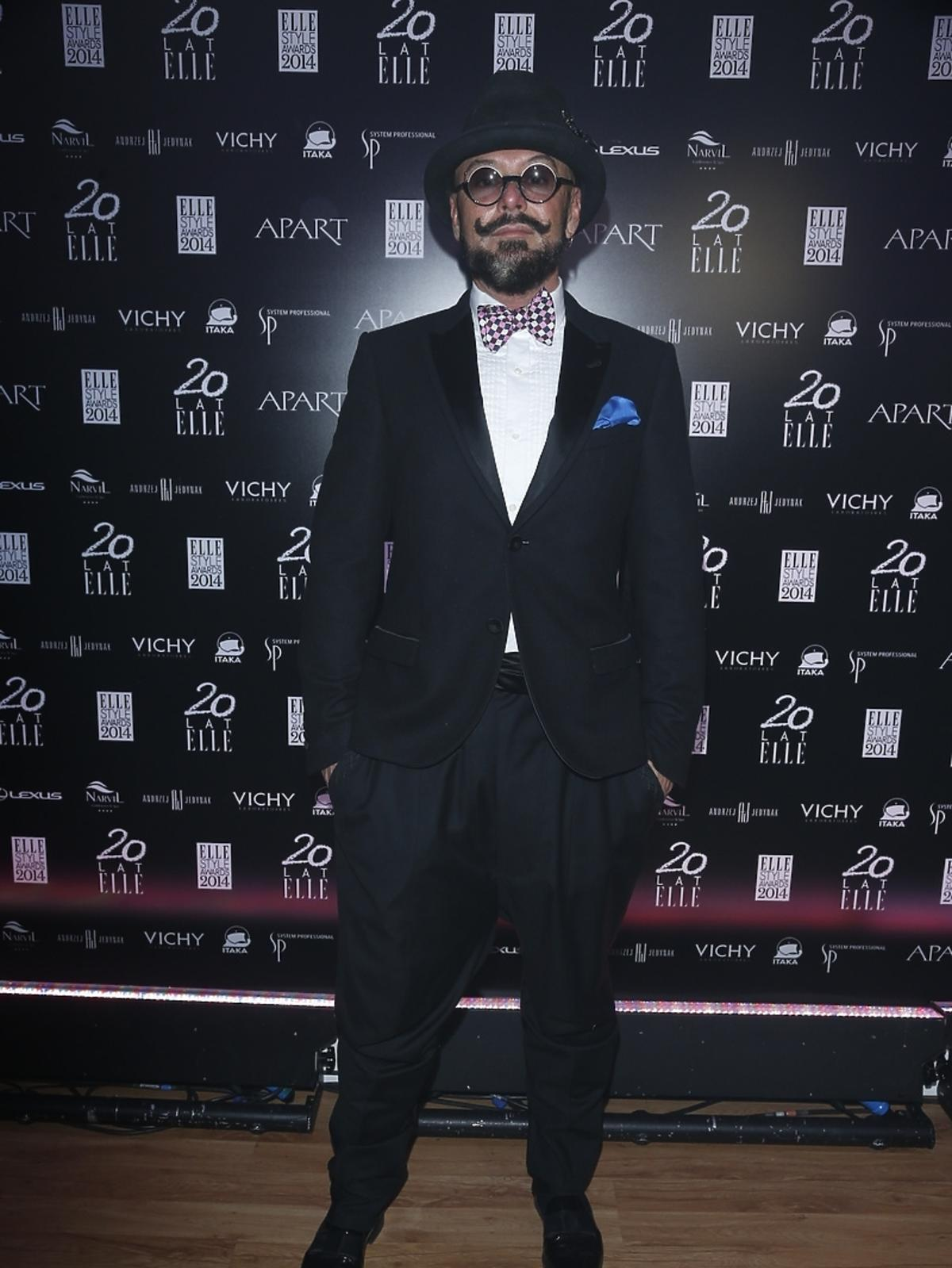 Tomasz Jacyków na Elle Style Awards 2014