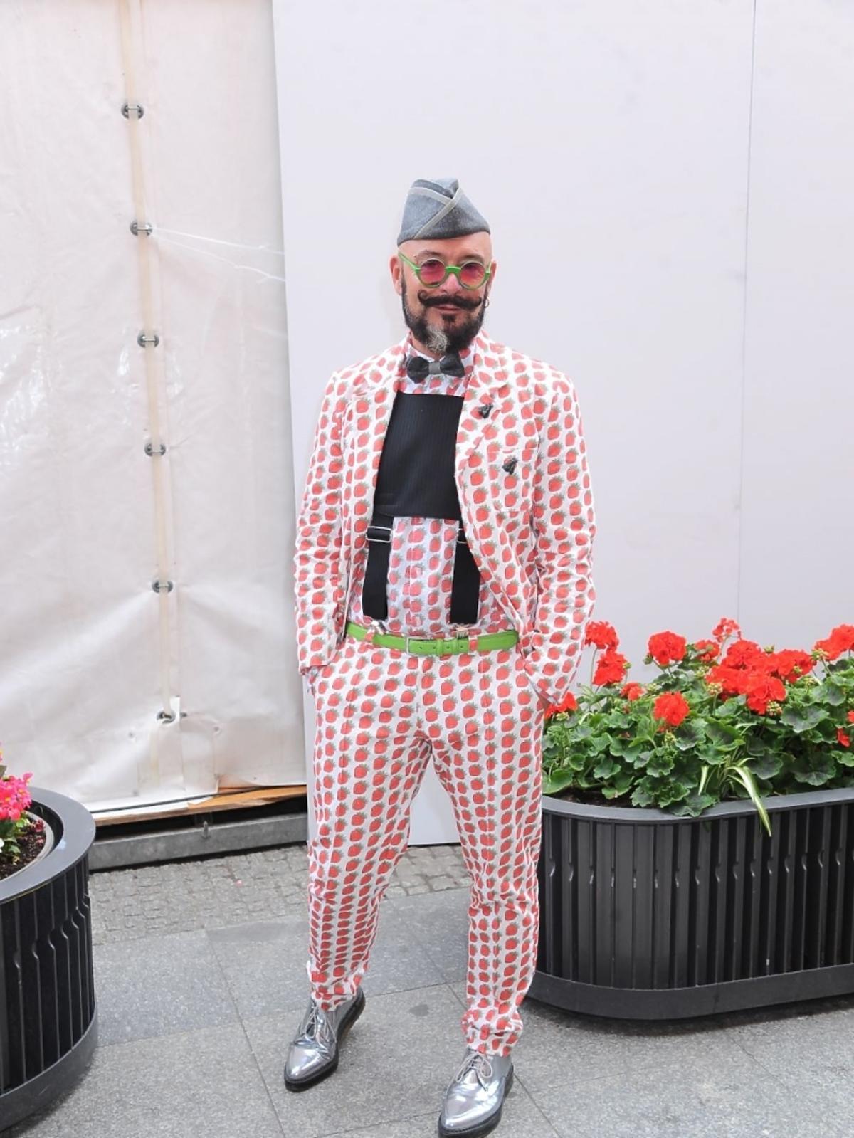Tomasz JAcyków na Fashion Street