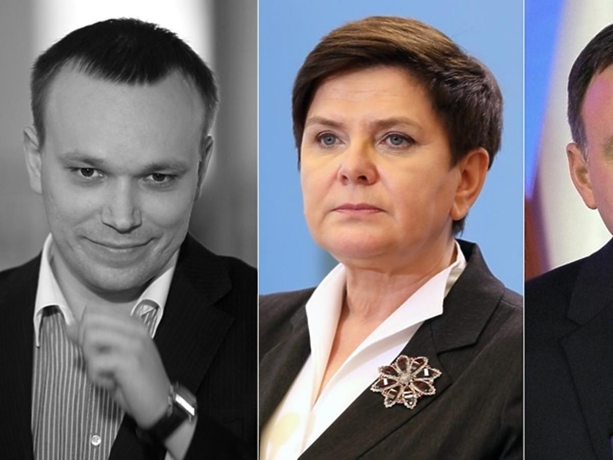 Tomasz Kalita, Beata Szydło, Andrzej Duda