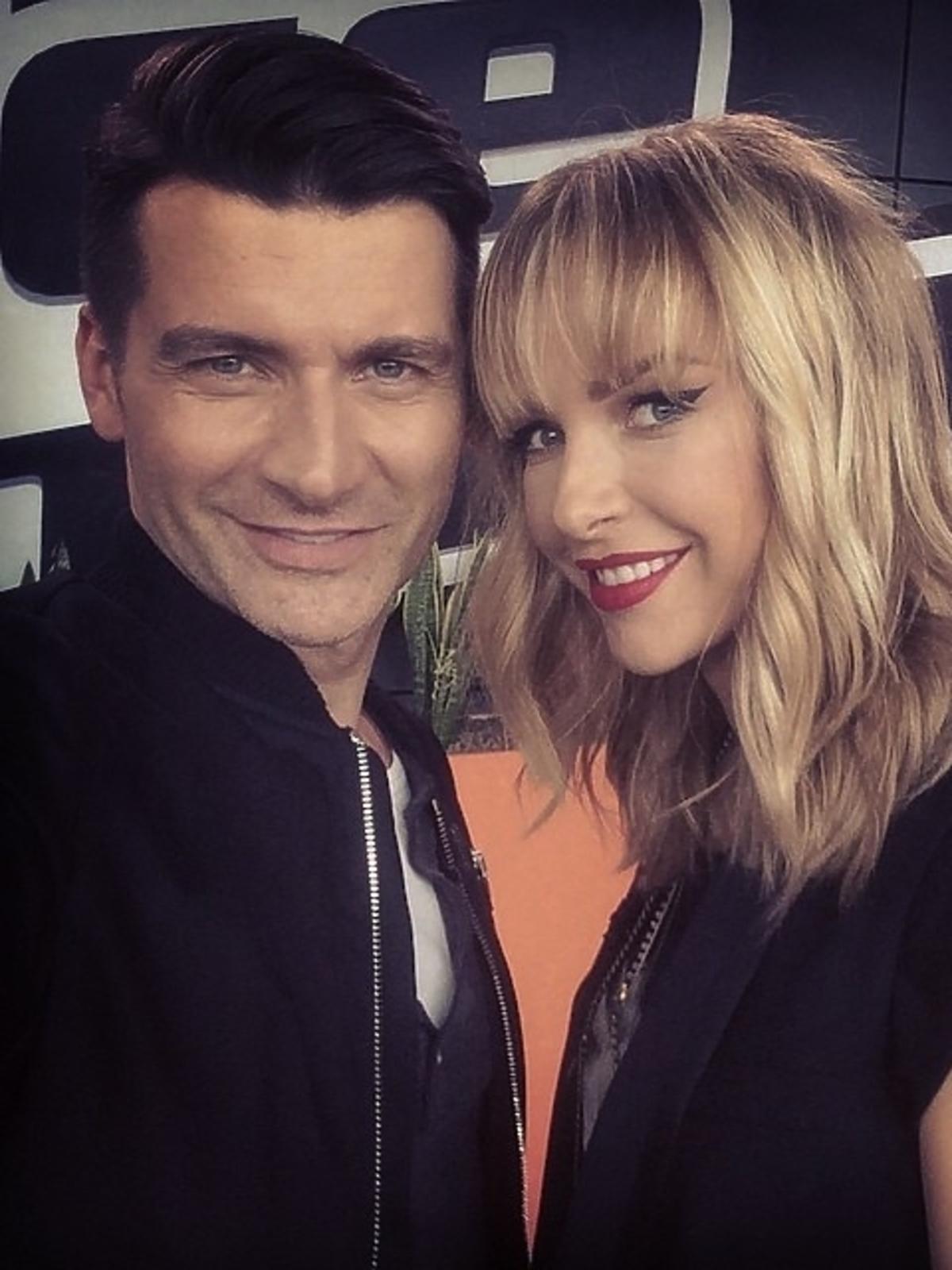 Tomasz Kammel i Magda Mielcarz na pierwszym castingu