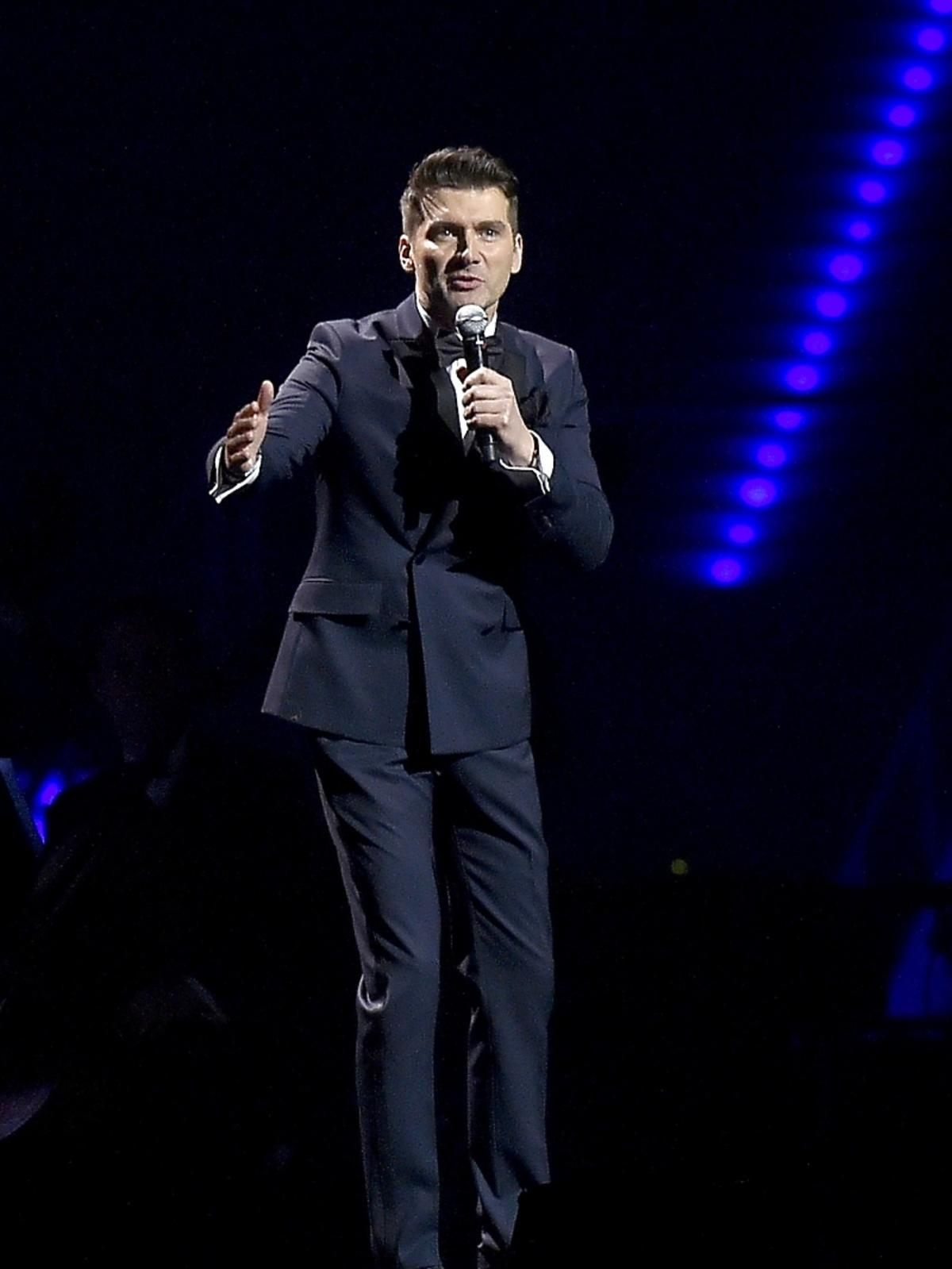 Tomasz Kammel na koncercie Katie Melua w Łodzi