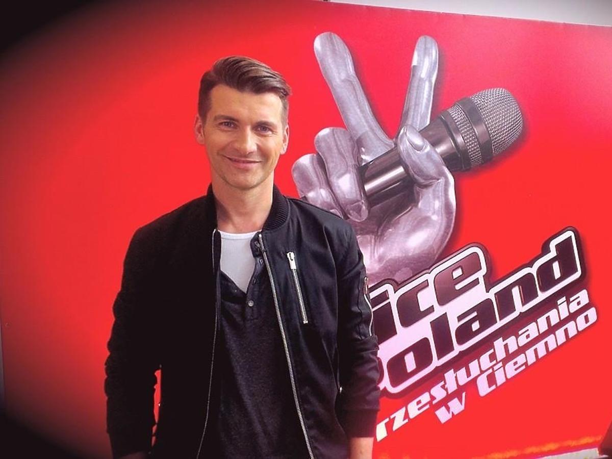 Tomasz Kammel na pierwszym castingu