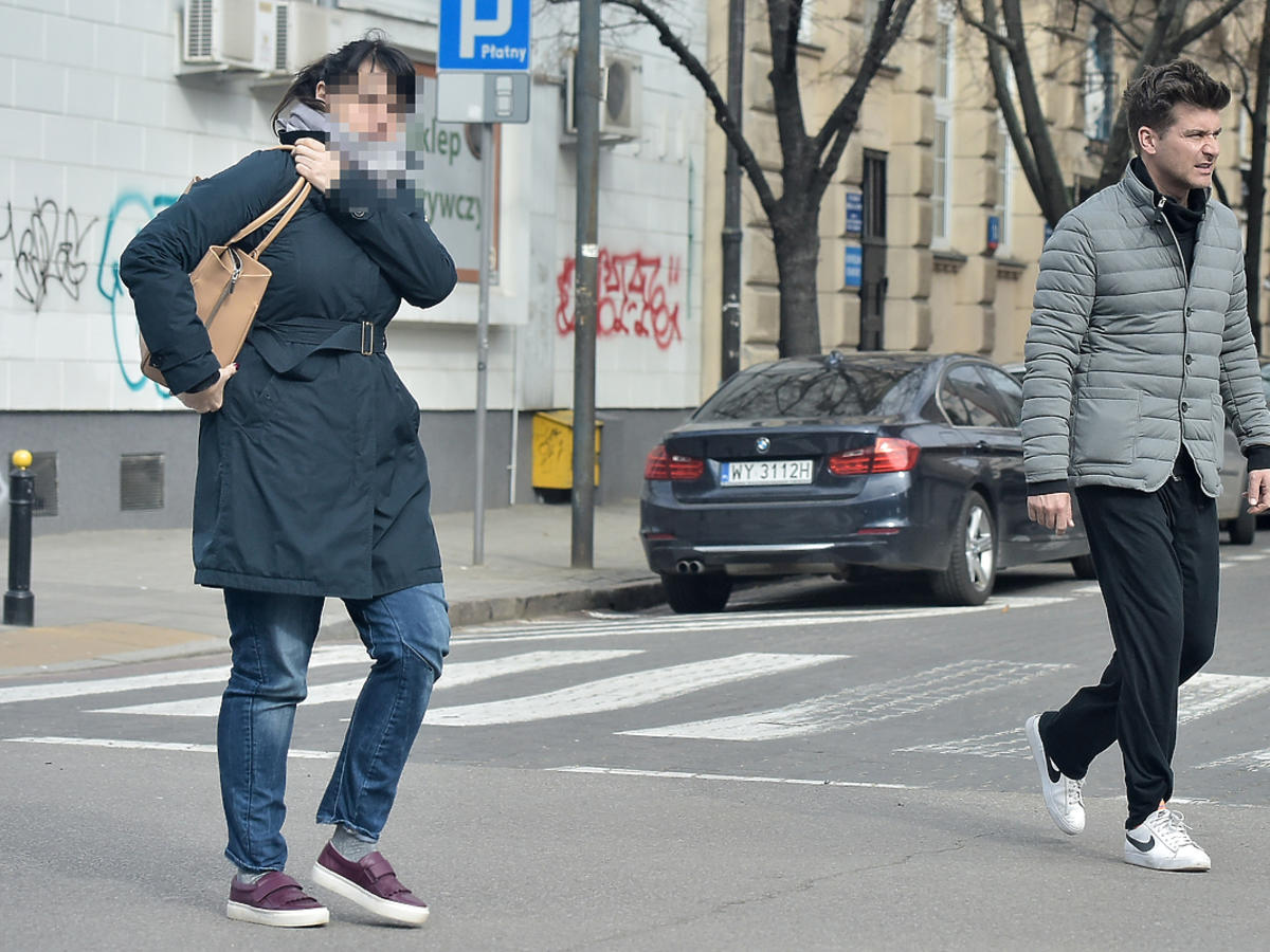 Tomasz Kammel na ulicy