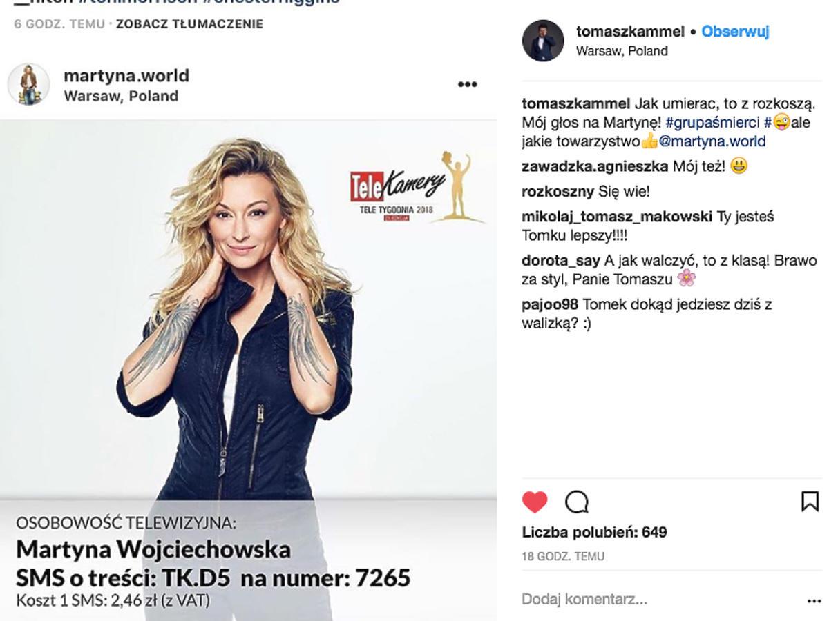 Tomasz Kammel o Martynie Wojciechowskiej