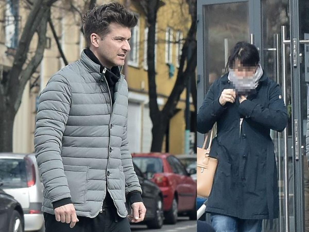 Tomasz Kammel w szarej kurtce