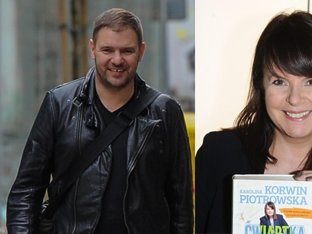 Tomasz Karolak i Karolina Korwin Piotrowska