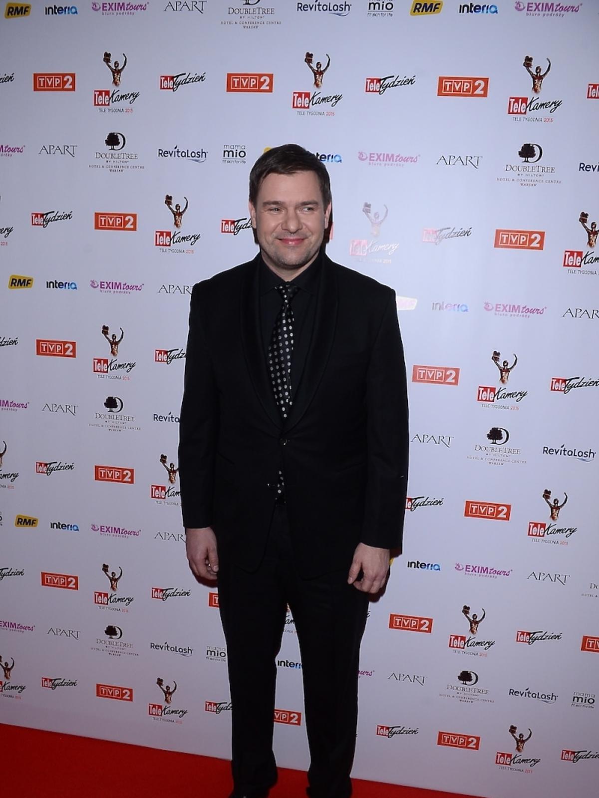 Tomasz Karolak na gali TeleKamery 2015