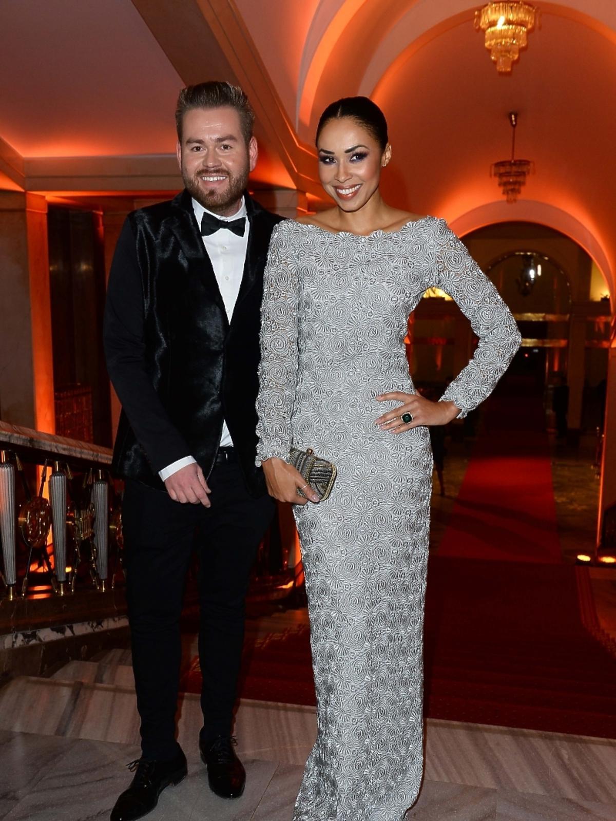 Tomasz Olejniczak Tomaotomo i Omenaa Mensah na imprezie Flesz Fashion Night