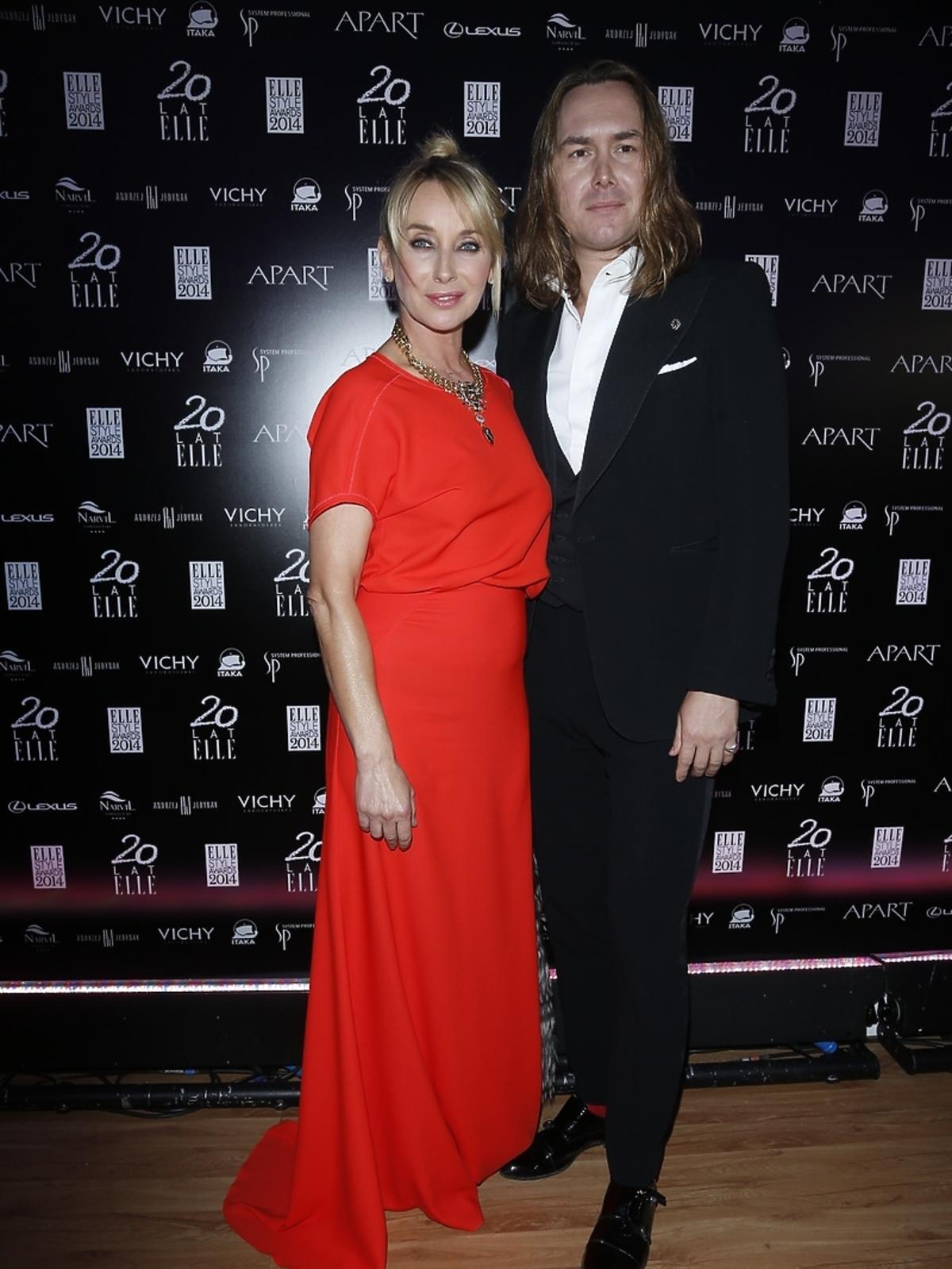 Tomasz Ossoliński na Elle Style Awards 2014