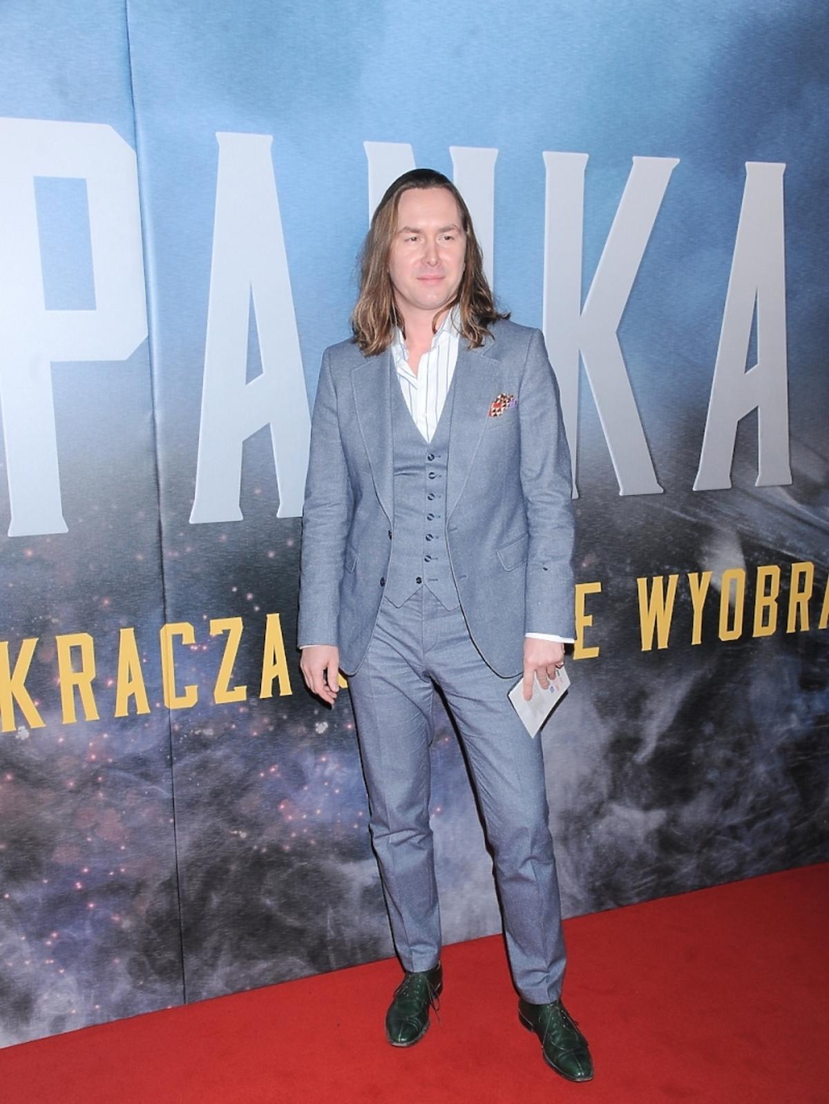 Tomasz Ossoliński na premierze filmu