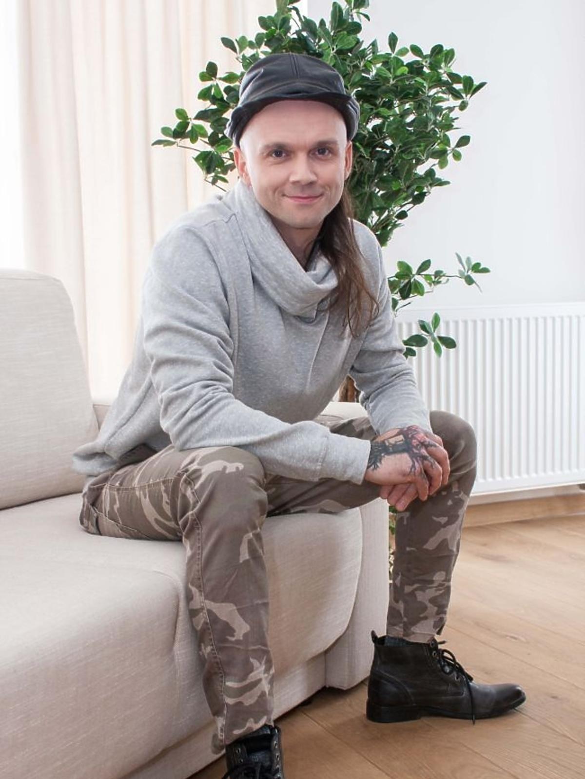 Tomasz Pągowski na planie programu