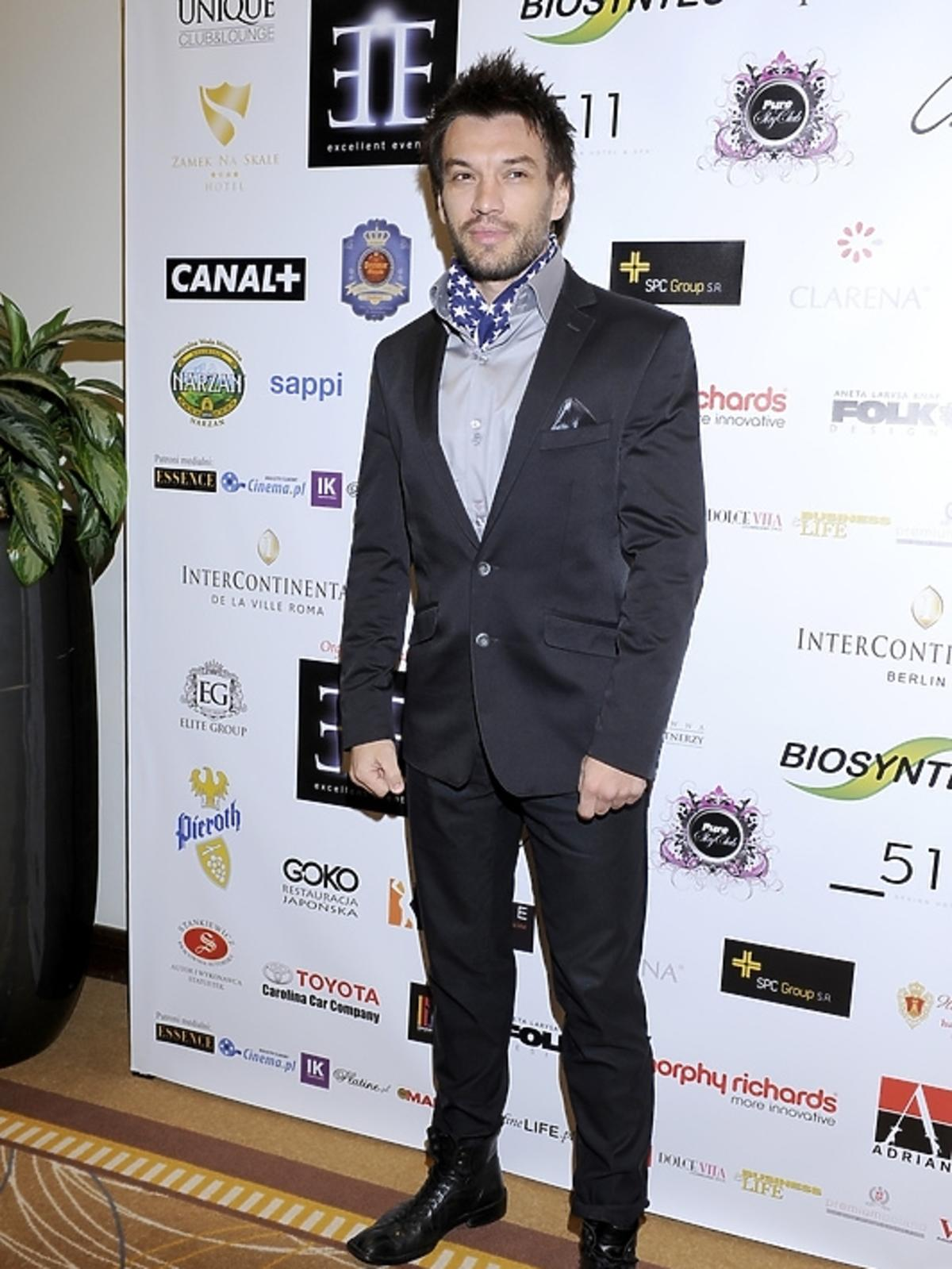 Tomasz Puzon na gali Luksusowa Marka Roku 2012