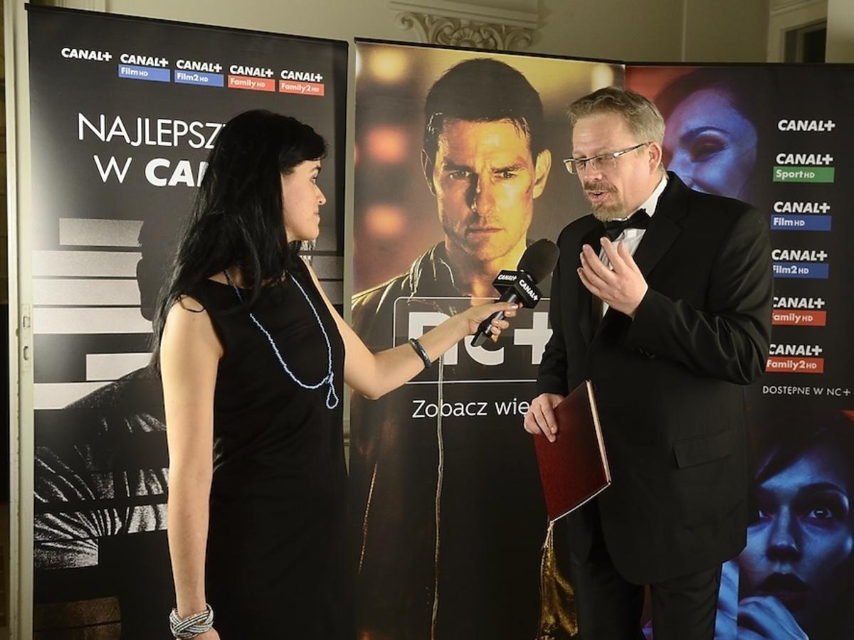 Tomasz Raczek na Oscarach 2014