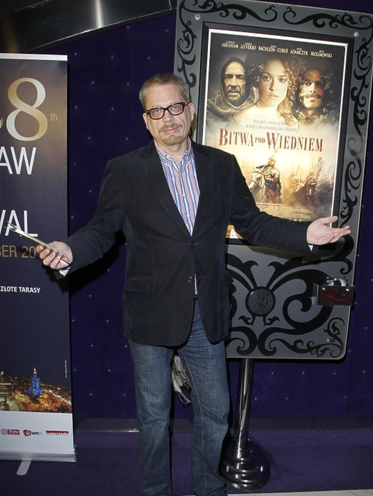 Tomasz Raczek na otwarciu Warszawskiego Festiwalu Filmowego