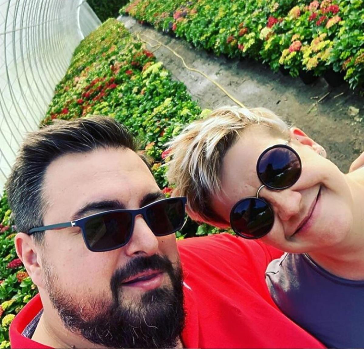 Tomasz Sekielski z żoną