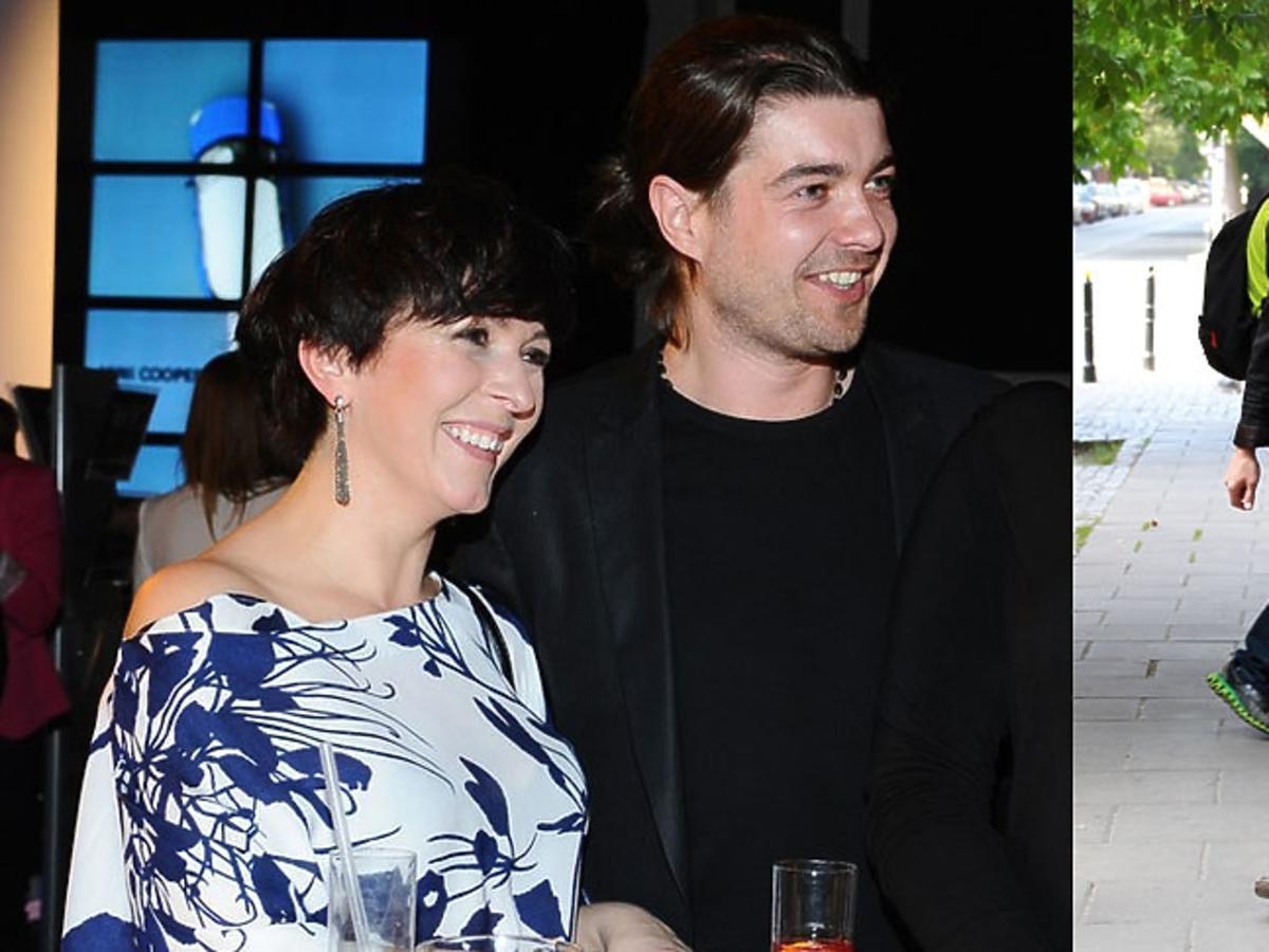 Tomasz Szczepanik z żoną