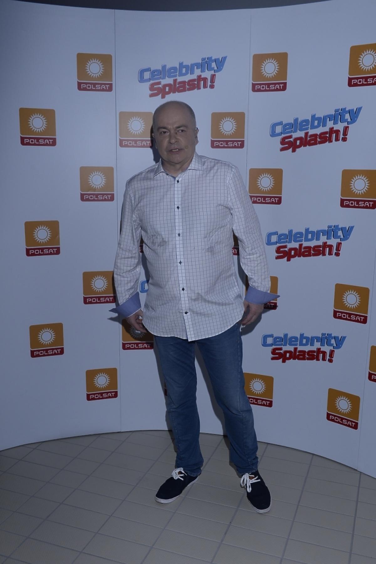Tomasz Zimoch w Celebrity Splash