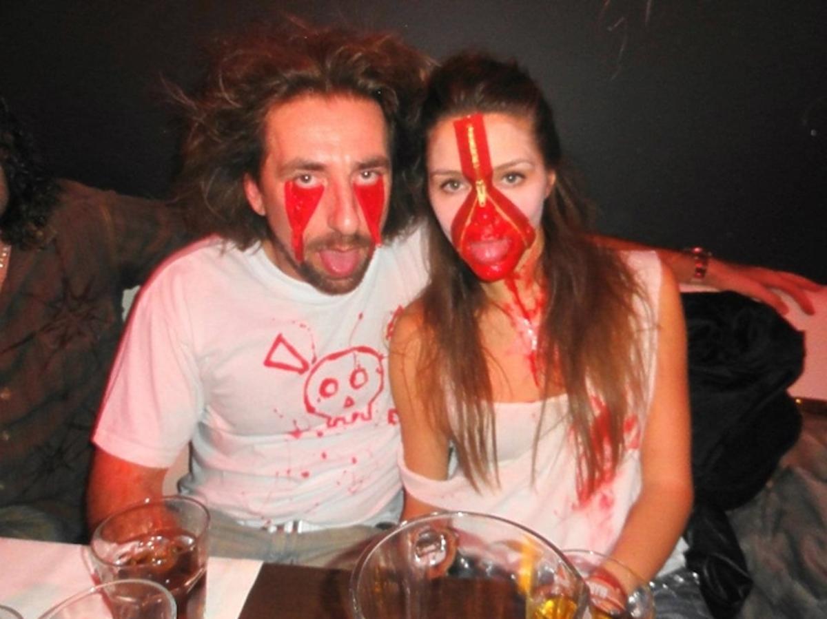 Tomek Iwan i Natalia Jakóła na Halloween przebrali się za postaci rodem z amerykańskich horrorów