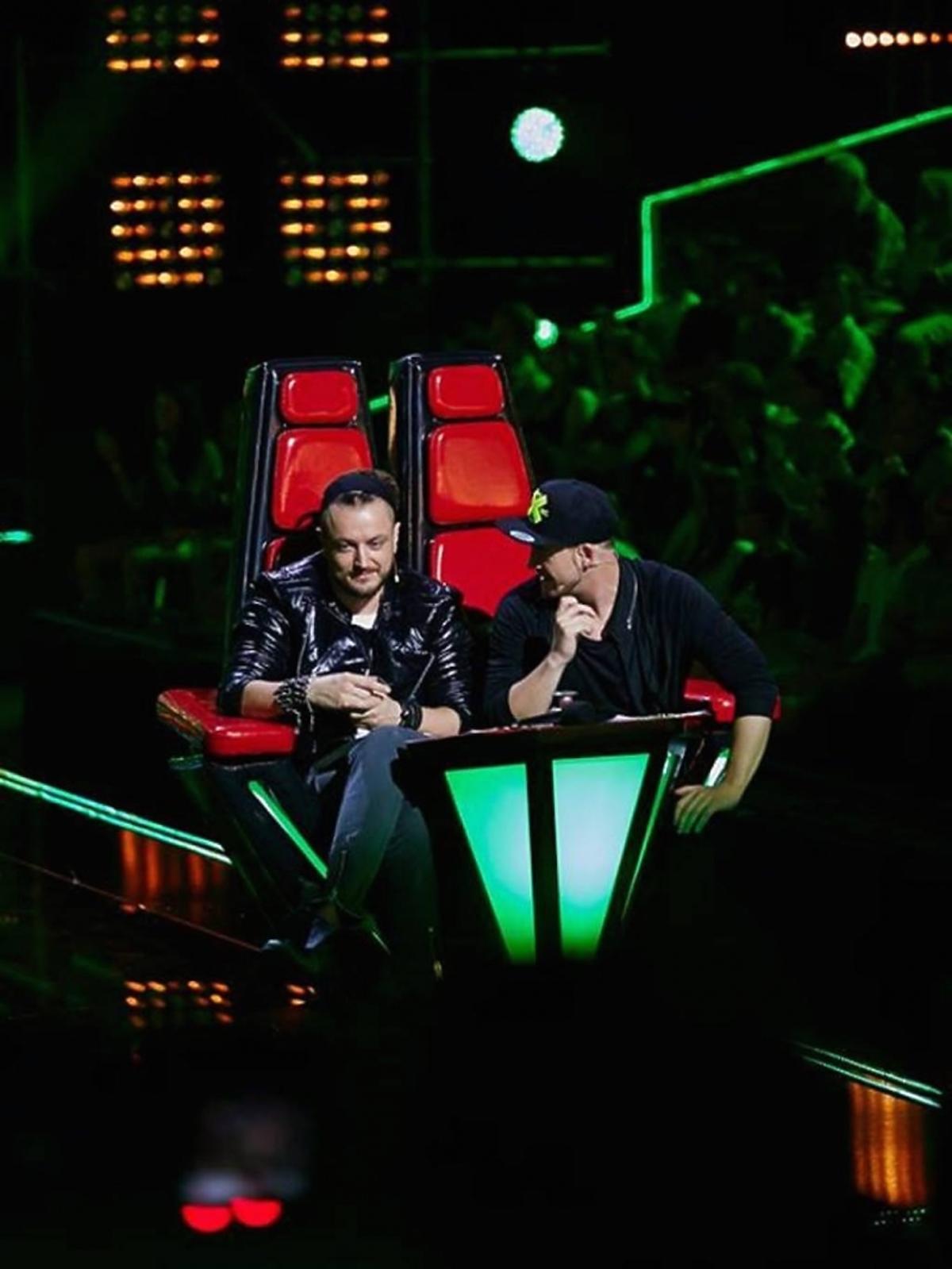 Tomson i Baron na planie The Voice of Poland 6