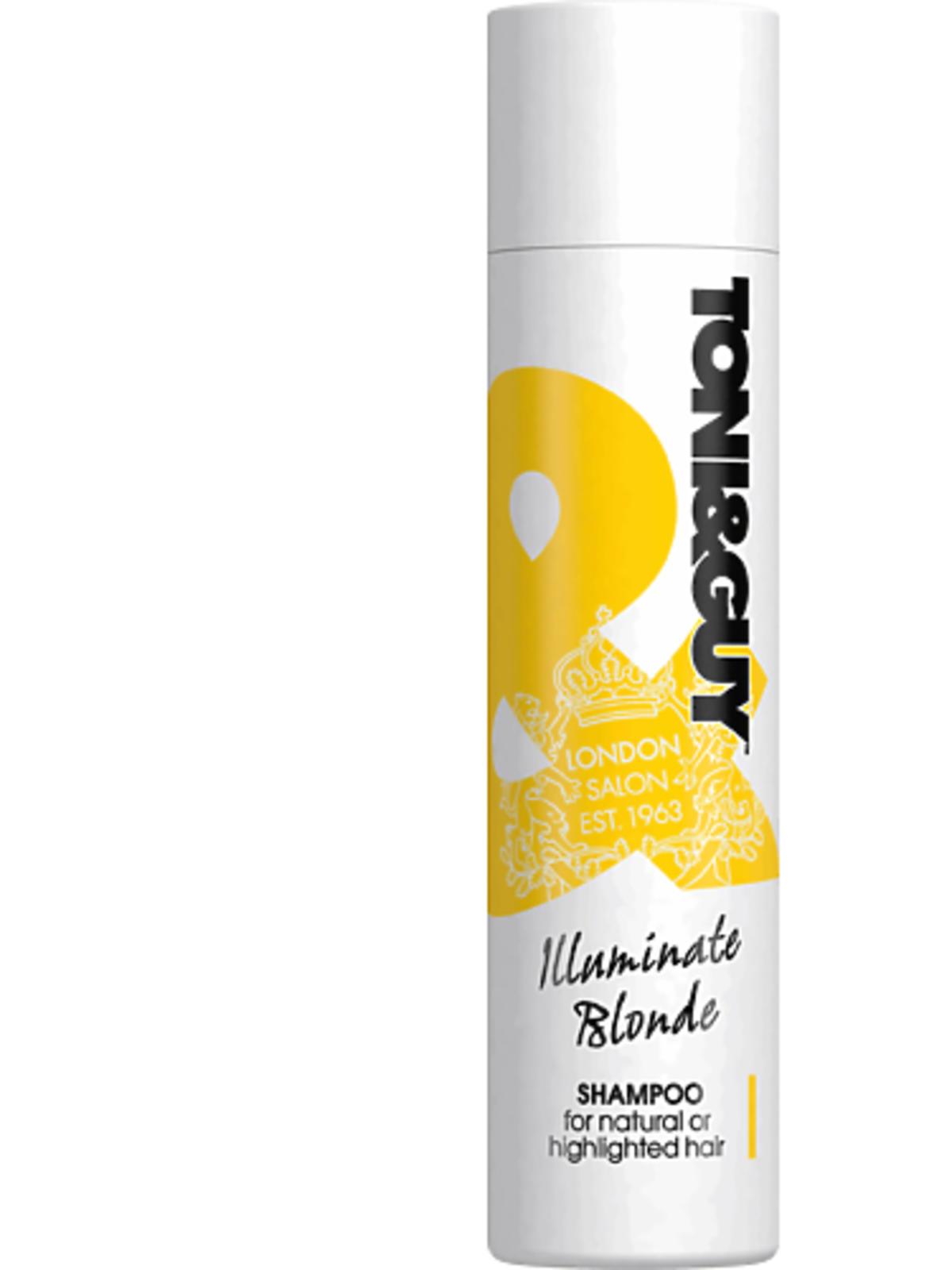 Toni&Guy, Illuminate Blonde, szampon do włosów blond, 34,99 zł