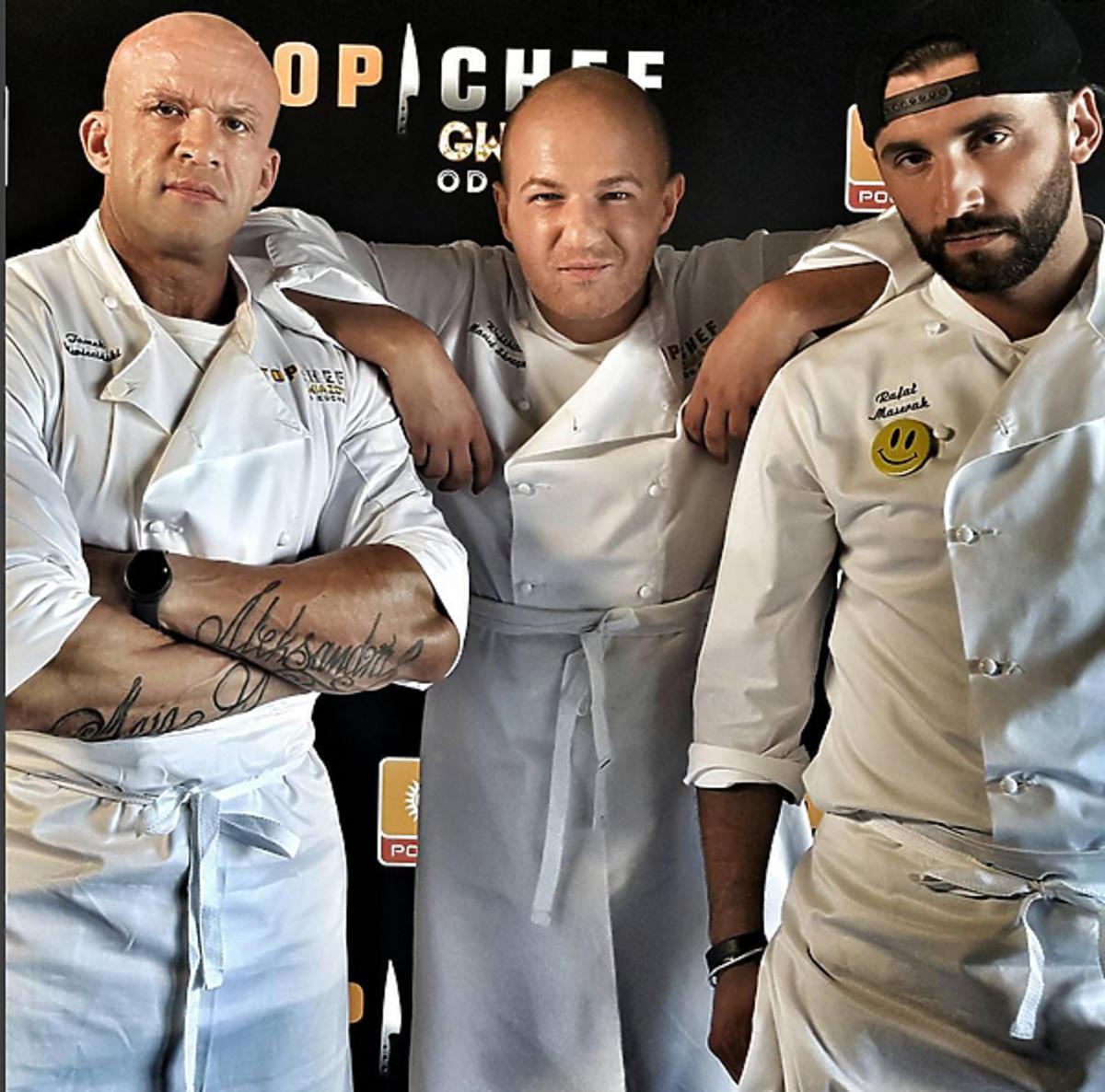 Top Chef Gwiazdy, Tomasz Oświeciński, Wróżbita Maciej, Rafał Maserak